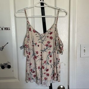 American Eagle Outfitters Floral Tank Top Size XS